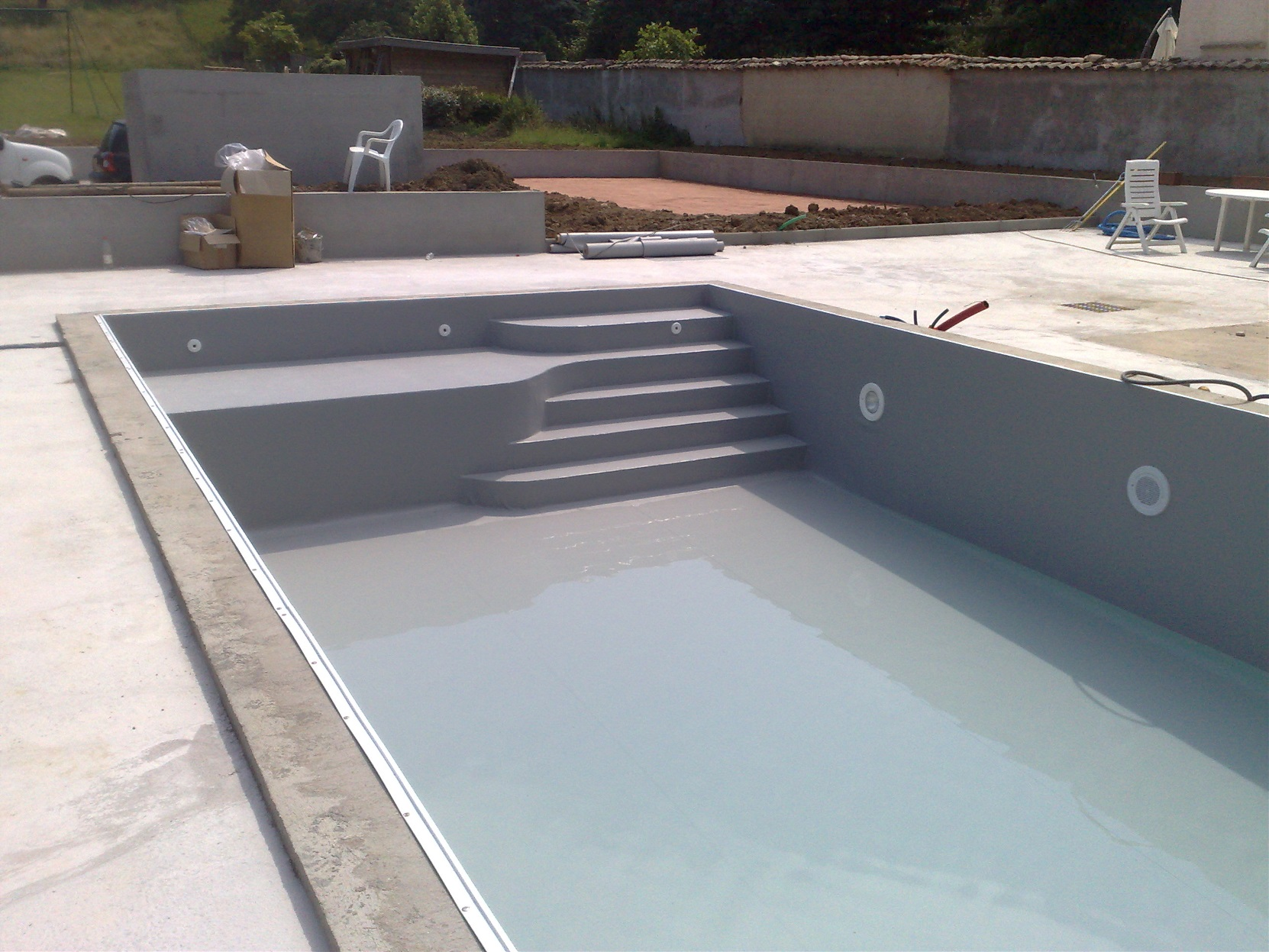Piscines r novation construction mat riel pour piscines for Cout construction piscine beton